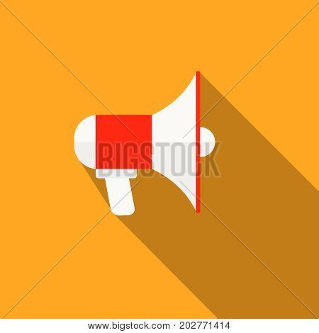 Flat Loudspeaker Isolated Advertisement  Loudspeaker And Announcement
