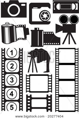 Vector photo and video stuff