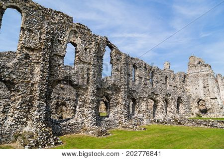 Remains Of Castle Acre Priory