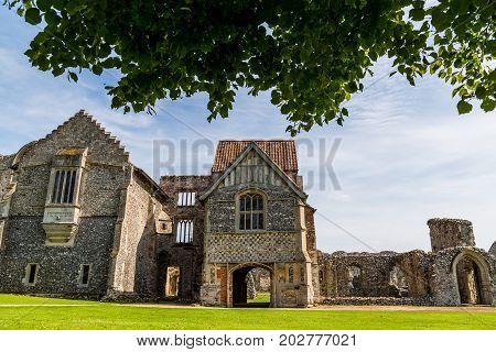 Framing Castle Acre Priory