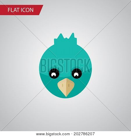 Sparrow Vector Element Can Be Used For Sparrow, Bird, Wing Design Concept.  Isolated Bird Flat Icon.