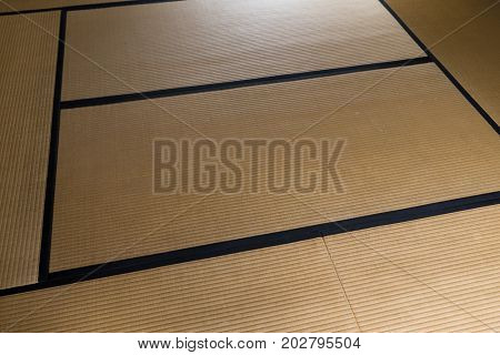 Tatami in Japanese house