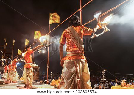 Ganga Aarti Ritual