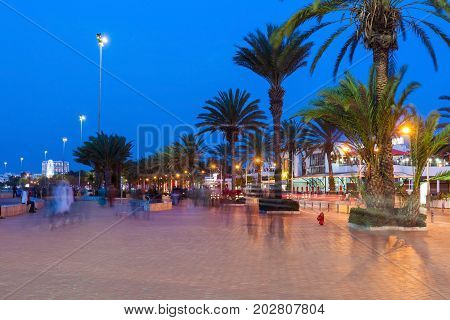 Agadir At Night