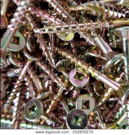 screws sharp construction grade thread drill fastened