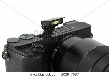 Pop-up Flash On A Mirrorless Camera