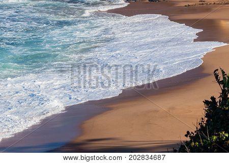 Beach Wave White Water