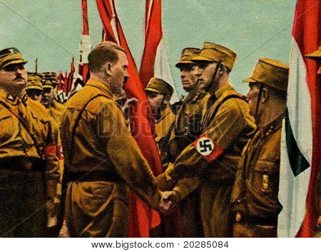 Hitler Standartenweihe In Gera