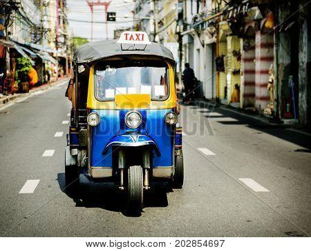 Tuk Tuk Thai native taxi