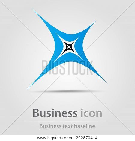 Originally created business icon with couple of stars