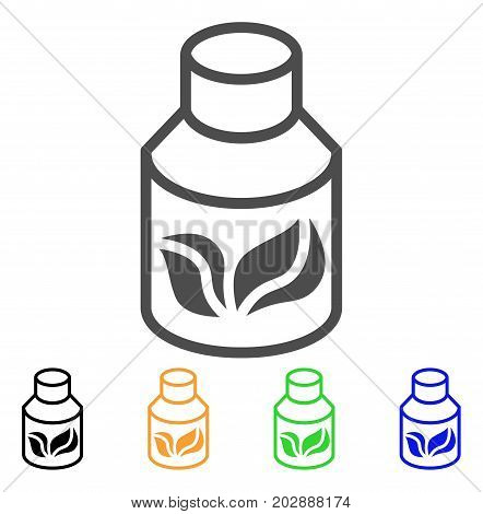 Natural Drugs vector pictograph. Style is a flat graphic symbol in grey, black, yellow, blue, green color versions. Designed for web and mobile apps.