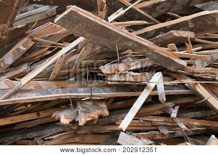 Pile Of Boards