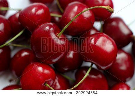 berries still life, a lot of berries, a handful of berries, red berries