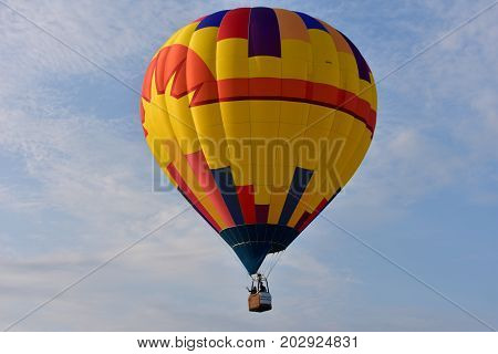 Lincoln, Illinois - Usa - August 25, 2017: Lincoln Balloon Fiesta 2017