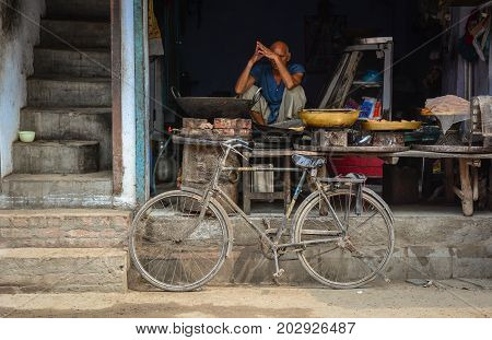 Street Market In Amritsar, India