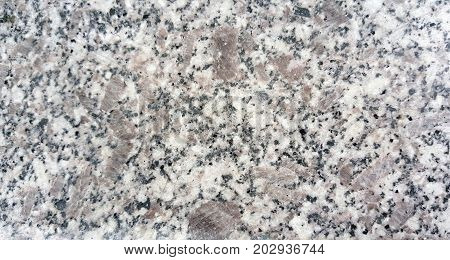 Texture of granite background. Granite Texture White Base with Black and Gray Spots