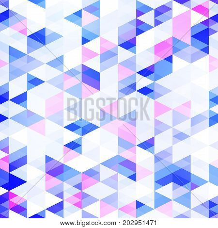 Abstract background with a multitude of triangles. Geometric pattern. The texture of the shapes.