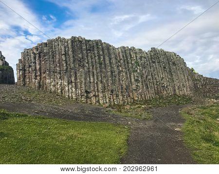 Northern Ireland Basal Columns, Giants Causeway