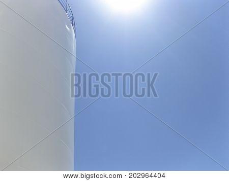 White Tank In The Sun.