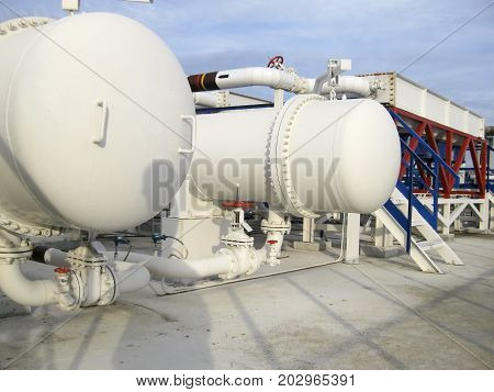 Heat Exchangers In A Refinery
