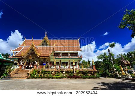 Wat Pa Prao Nok Temple In Chiang Mai, Thailand