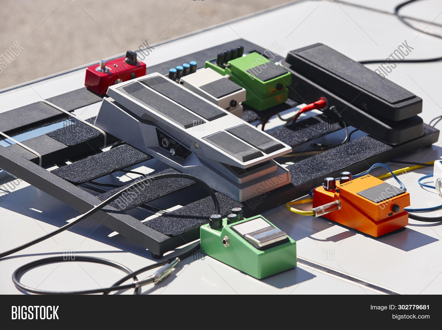 Guitar Pedal Effects Image & Photo (Free Trial) | Bigstock