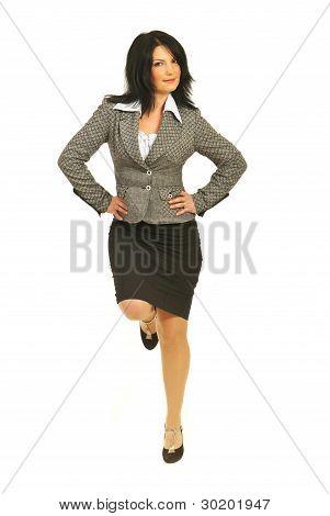 Proud Business Woman Equilibrium