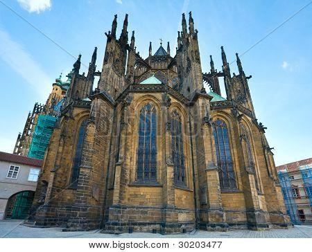St. Vitus Cathedral , Prague, Czech Republic