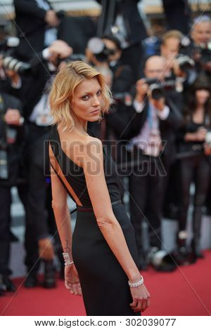 Anja Rubik attends the screening of