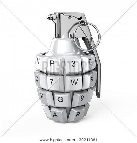 Keyboard grenade concept