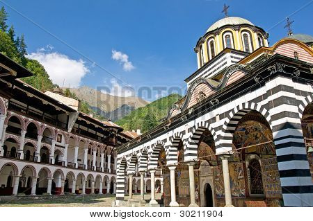 Monastery of Saint Ivan of Rila, Bulgaria