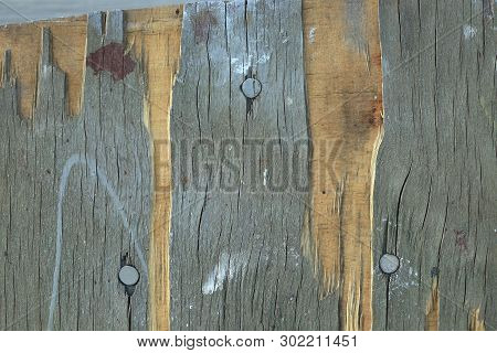 Texture Of The Old Board
