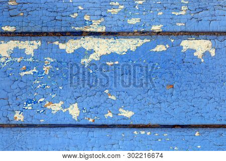 Texture Of The Old Cracked Paint