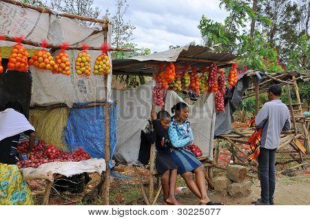 Kibera slum. NAIROBI, KENYA