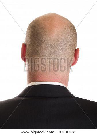 Head - Businessman Back