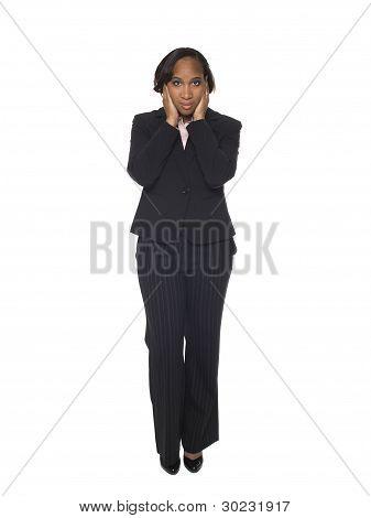 Businesswoman - Hear No Evil
