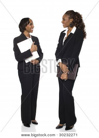 Businesswomen - Chatting