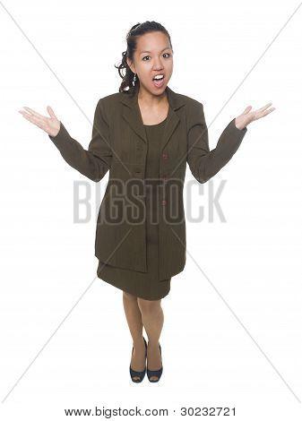 Businesswoman - Disbelief