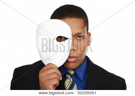 Businessman - Costume Mask