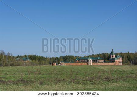 St. Sergius Desert, St. Vvedensky Women's Monastery, 05/01/2019, Lezhnevsky District, Ivanovo Region