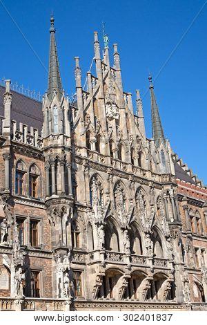 Main square of Munich, Germany.