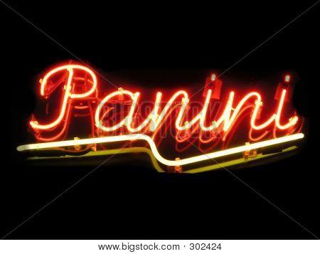 Panini Neon Sign