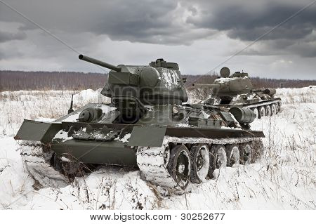 Russian Tanks T34