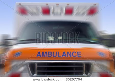 ambulance blur