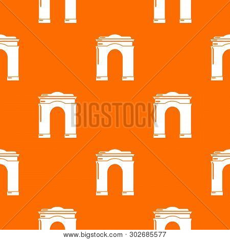 Archway Big Pattern Vector Orange For Any Web Design Best