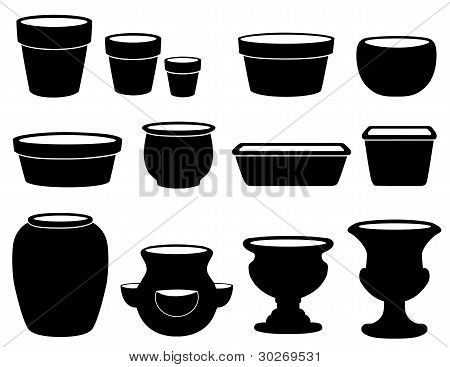 Flowerpots And Pottery