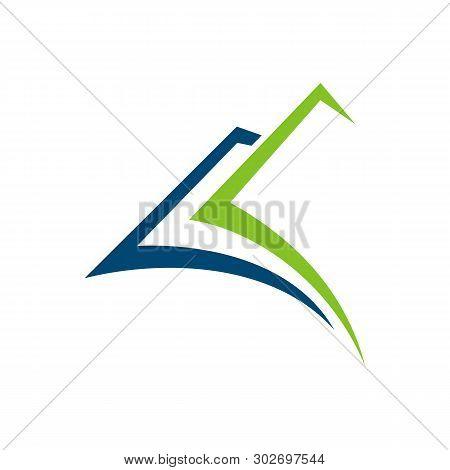 Book Keeping Vector Logo Template Illustration Design