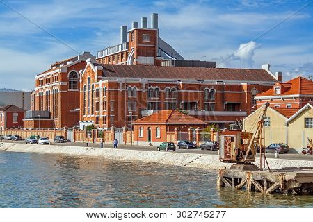Lisbon, Portugal.Central Tejo, the old power plant converted into Museu da Electricidade or Electricity Museum.