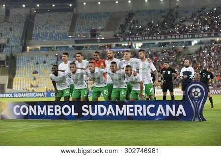 Rio, Brazil - May 23, 2019: Match Between Fluminense (bra) And Atletico Nacional (col) By The Sudame