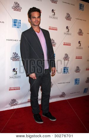 LOS ANGELES - FEB 19:  Greg Rikaart arrives at the 2nd Annual Hollywood Rush at the Wilshire Ebell on February 19, 2012 in Los Angeles, CA.